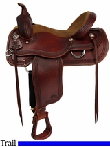 "** SALE ** 16"" Courts Saddlery Trail Saddle 92190B"