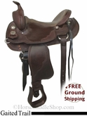 "PRICE REDUCED! 16"" Crates Gaited Trail Saddle uscr2785 *Free Shipping*"