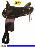 "15.5"" 16"" Crates Light Mule Saddle 4581"