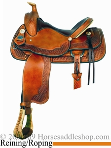 "16"" Crates Roper Reiner Saddle All Purpose Ranch 4532"