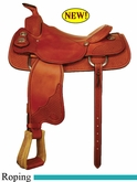 "16"" Crates Steer Wrestler Saddle 4240"