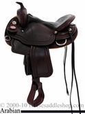 "16"" Crates Super Light Arabian Trail Saddle 2395"