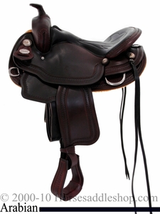 "** SALE **15"" 16"" Crates Super Light Arabian Trail Saddle 2395"