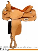 "16"" Custom Reiner Saddle by Dakota Saddlery 820"
