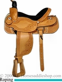 "16"" Dakota Custom Ranch or Calf Roping Saddle dk 206"