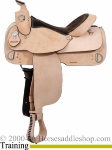 "16"" Dakota Training Saddle 920"