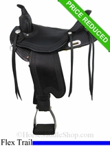 "16"" Dakota Lightweight Flex Tree Trail Saddle 352"