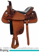 "16"" Dakota Penning Roping Saddle 9555"