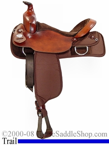 Fabtron's Extra Wide Saddle for Haflinger or Flat Backed Wide Horse