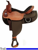 "16"" Fabtron Draft Horse Saddle 7182"