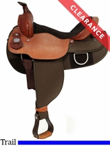 "SOLD 2016/11/12  16"" Fabtron Draft Horse Saddle 7182 CLEARANCE"
