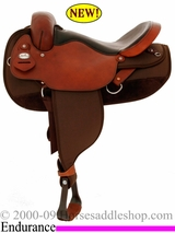 "16"" Fabtron Center-Fire Endurance Saddle 7320"