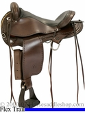 "16"" Circle Y Expedition Flex-Lite Trail Endurance Saddle 1575 *free pad or cash discount*"