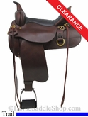"16"" High Horse Big Springs Trail Saddle 6862"