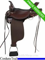 "SOLD 2015/02/20 16"" High Horse by Circle Y Daisetta Cordura Trail Saddle 6914"