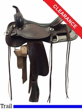 "16"" High Horse by Circle Y Winchester Trail Saddle 6819 CLEARANCE"