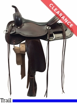 "SOLD 2016/08/17  16"" High Horse by Circle Y Winchester Medium Trail Saddle 6819 CLEARANCE"