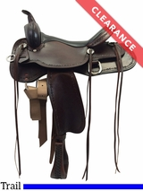 """SOLD 2017/02/18  15"""" High Horse by Circle Y Winchester Trail Saddle 6819 CLEARANCE"""