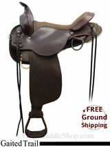 """SOLD 2015/07/02 16"""" High Horse El Campo 6970 Gaited Trail Saddle, Exclusive ushh3108 *Free Shipping*"""