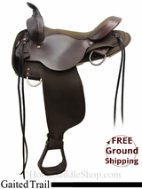 """16"""" High Horse El Campo 6970 Gaited Trail Saddle, Exclusive ushh3109 *Free Shipping*"""