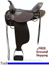 "16"" High Horse El Dorado 6915 Trail Saddle, Wide Tree, Exclusive ushh3106 *Free Shipping*"