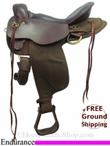 "PRICE REDUCED! 16"" High Horse Endurance Saddle ushh3033 *Free Shipping*"