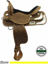 "SOLD 2016/02/23 16"" High Horse Gladewater 6310 Show Saddle, Exclusive ushh3265 *Free Shipping*"