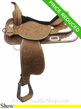 "16"" High Horse Gladewater Show Saddle 6310"