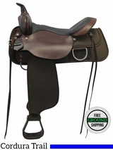"16"" High Horse Lockhart Medium Trail Saddle 6910, Floor Model ushh3561 *Free Shipping*"