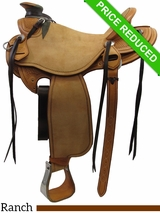 "16"" Martin Saddlery Wade Saddle mr26 CLEARANCE"