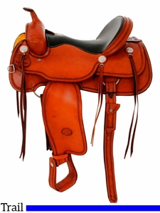 """** SALE ** 15.5"""" to 17"""" Billy Cook Trail Saddle 1784"""