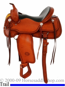 16inch Billy Cook WJ Trail Saddle