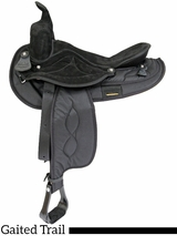 "16"" 17"" Big Horn Gaited Cordura Saddle 605 606"