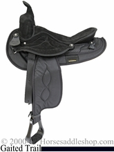 "16"" or 17"" Cordura Saddle for the Gaited Horse by Big Horn 605 606"