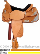 "16"" Billy Cook Pleasure Reiner Show Saddle 3299"