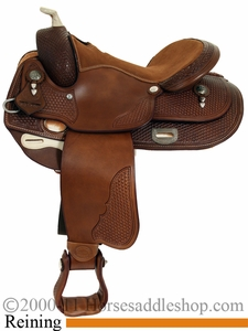 "16"" Saddlesmith Bob Loomis Reiner Saddle 291384"