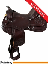 """SOLD 2016/10/12  16"""" South Bend Saddle Co Reining Saddle 2704 CLEARANCE"""