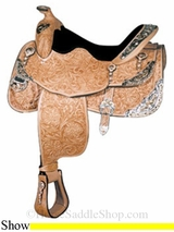 "16"" Tennessean� Silver Supreme Signature Edition Saddle 6716"