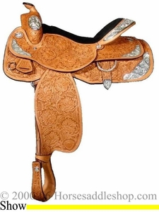 "16"" Tex Tan Hereford  'All American'  Show Saddle 08-15602n6"