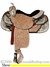 "16"" Tex Tan Premium Show Saddle 08-1586-10u6"