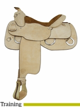 "16"" Tex Tan Reiner Trainer Training Saddle 292140RO6"