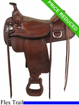 "16"" Tex Tax Seminole Flex Trail Saddle 292TF484"