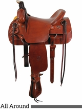 "** SALE ** 16"" The Sagebrush Rider All Around WIDE Saddle by Colorado Saddlery 300-6327"