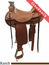 "16"" The Teton Valley Wade, Wide Tree Saddle by Colorado Saddlery 300-291-292-293 CLEARANCE"