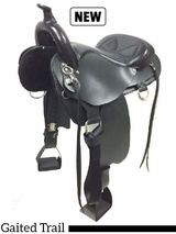 """16"""" to 17"""" Lite Rider Saddle with Horn Tennessean Performance Series� (TPS-5367)"""