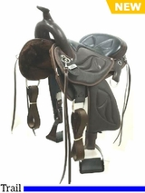 "16"" to 17"" Tennessean Performance Series� Plush Lite Performance Saddle (TPS7916)"