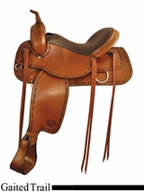 "16"" to 18"" Tex Tan Conroe Gaited Flex Trail Saddle 292520PN"
