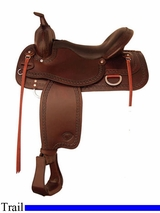 "16"" to 18"" Tex Tan Repose Trail Saddle 292508"