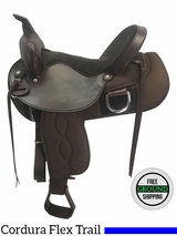 """SOLD 2017/02/16  16"""" Used Big Horn Wide Flex Trail Saddle 326 usbh3690 *Free Shipping*"""