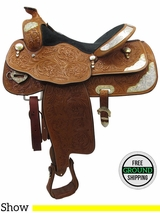 "16"" Used Billy Cook Greenville Wide Show Saddle 934 usbi3466 *Free Shipping*"